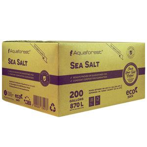 Aquaforest Sea Salt 25 kg. zak in box