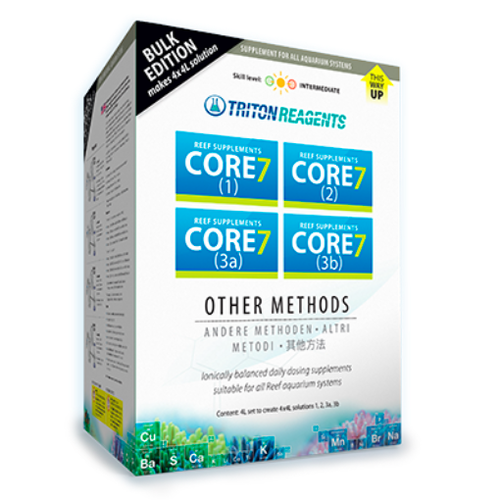 Triton Triton Core7 Reef supplements 4 x 4000ml Concentrate