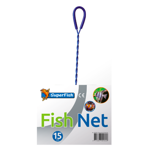 SuperFish SuperFish aquarium schepnetje 15 cm