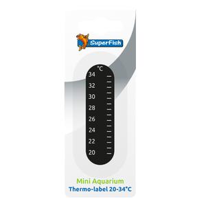 SuperFish SuperFish Plakthermometer 20-34*C