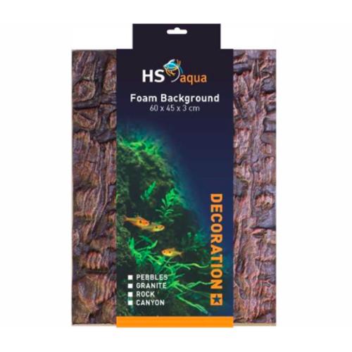HS Aqua HS Aqua Foam Background granite brown 60 x 45 x 3cm