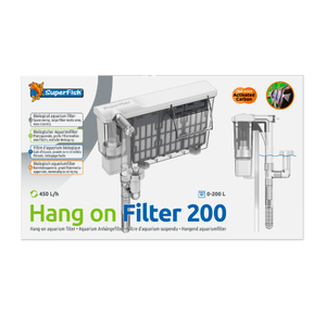 SuperFish SuperFish Hang on filter 200