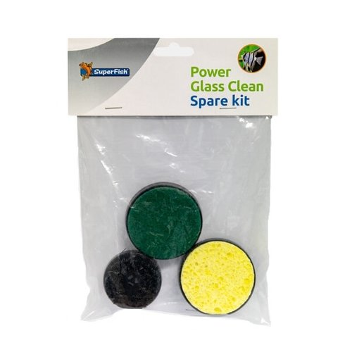 SuperFish SuperFish Power glass clean spare kit