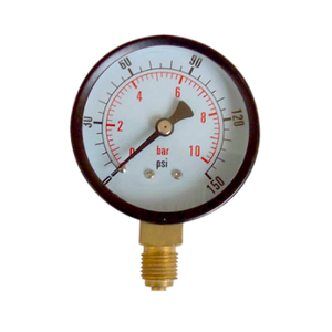 "D-D D-D RO Pressure Gauge incl. 1/4"" PF Tee Fitting"