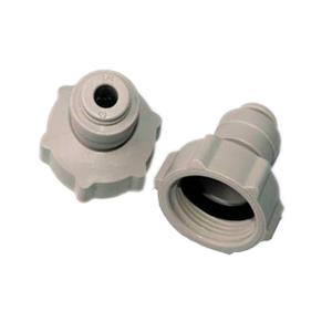"D-D D-D 3/4"" Threaded Tap Connector - Push Fit 1/4"" Pipe"