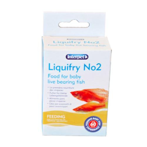 Interpet Interpet Liquifry tube nr.2 levendbarende vissen