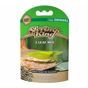 Dennerle Dennerle Shrimp king 5 Leaf mix 45 gram