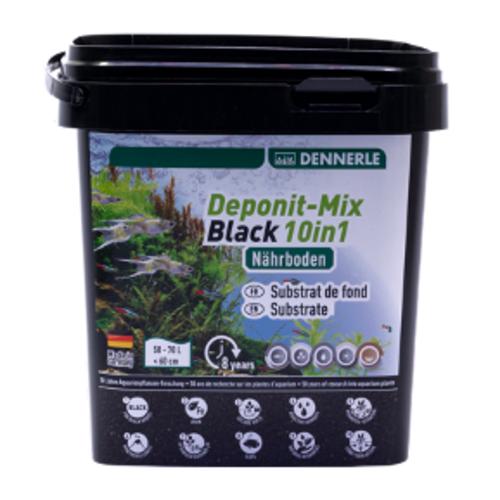 Dennerle Dennerle Deponitmix Black 10 in 1 emmer 4,8 kg