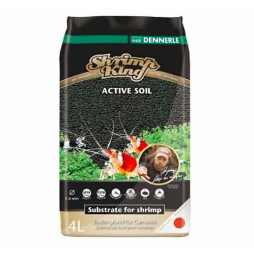 Dennerle Dennerle Shrimp king Active soil 4 Liter