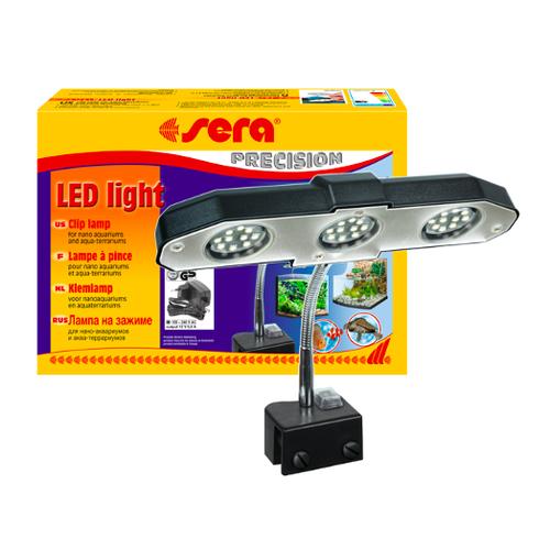 Sera Sera LED light 3 x 2 W voor aquarium en terrarium