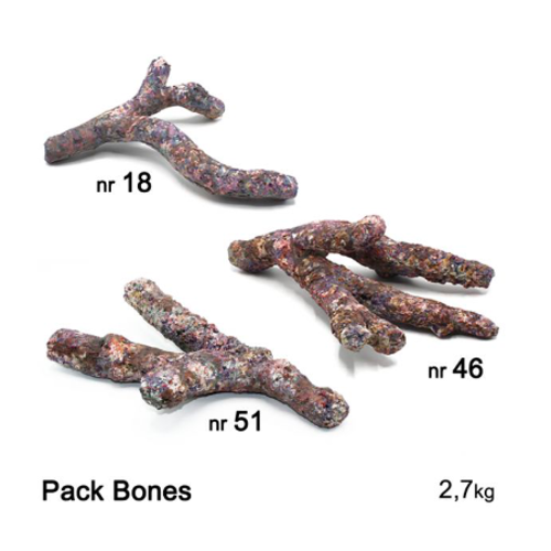 Dutch Reef Rock Dutch Reef Rock Pack Bones 2,7 Kg