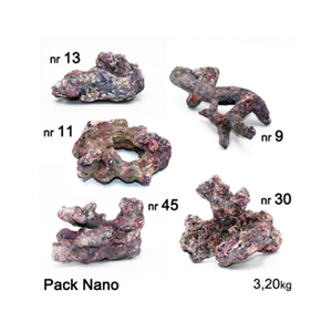 Dutch Reef Rock Dutch Reef Rock Pack Nano 3,2 Kg