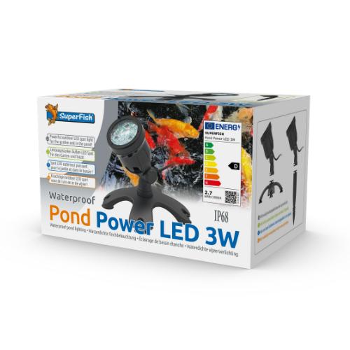 SuperFish SuperFish Pond power LED 3w