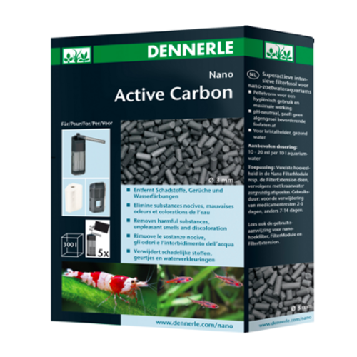 Dennerle Dennerle Nano Active carbon 300 ml