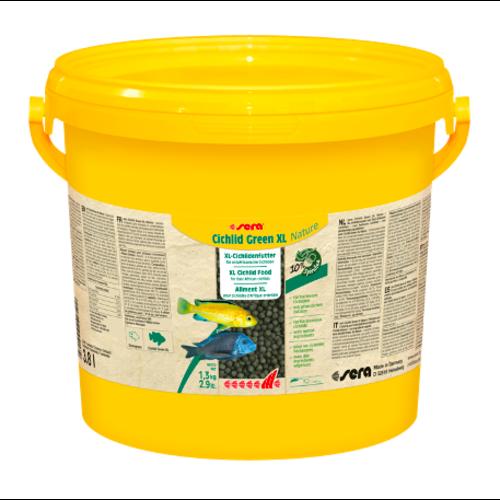 Sera Sera Cichlid Green XL Nature 3.800 ml