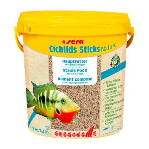 Sera Sera Cichlids Sticks Nature 2 kg