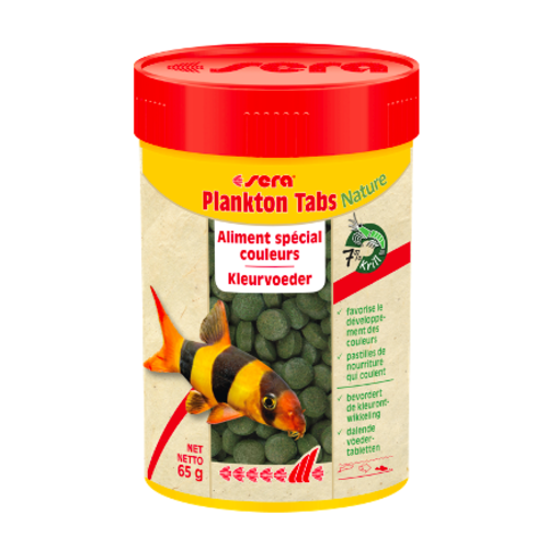 Sera Sera Plankton Tabs Nature 100 ml