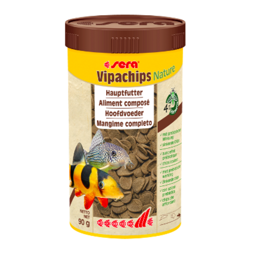 Sera Sera Vipachips Nature 250 ml