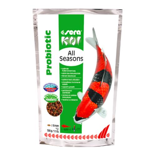 Sera Sera Koi All Seasons Probiotic 500 gram