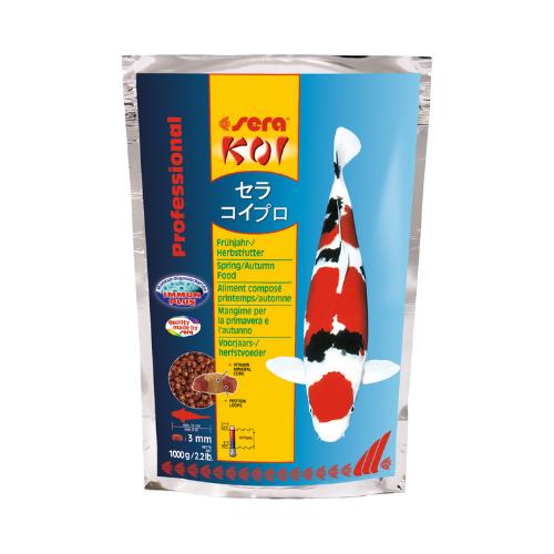 Sera Sera Koi Professional voorjaars-/herfstvoeder 1.000 gram