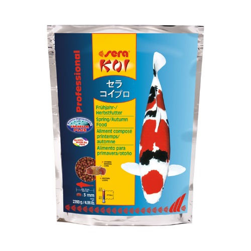Sera Sera Koi Professional voorjaars-/herfstvoeder 2.200 gram
