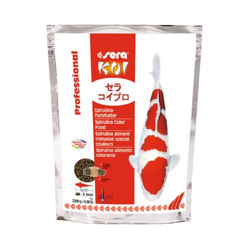 Sera Sera Koi Professional Spirulina-kleurvoeder 2.200 g