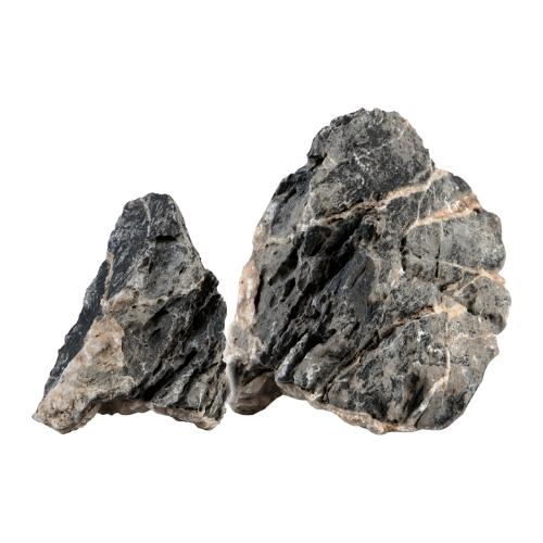 Sera Sera Rock Quartz Gray L 1 stuk à ca. 2-3 kg