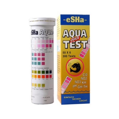 Esha Esha Aqua Quick test-50 teststrips zoetwater