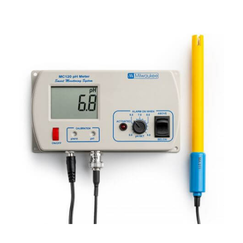 Milwaukee Milwaukee MC120 pH monitor incl. pH electrode