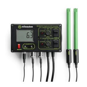 Milwaukee Milwaukee pH + Orp controller incl. pH en ORP electrode