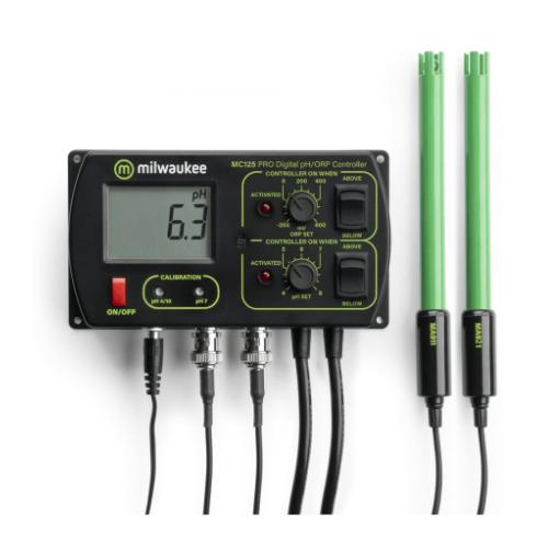 Milwaukee Milwaukee MC125 pH + Orp controller incl. pH en ORP electrode