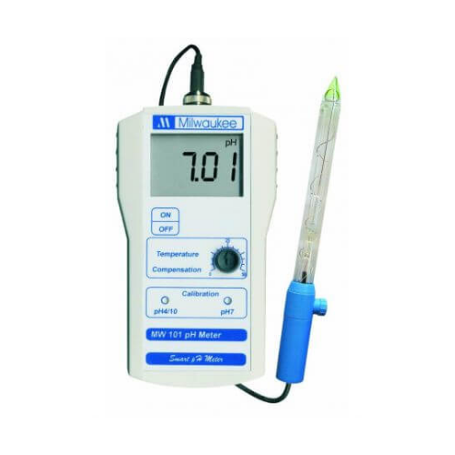 Milwaukee Milwaukee MW101 Portable pH meter , incl electrode