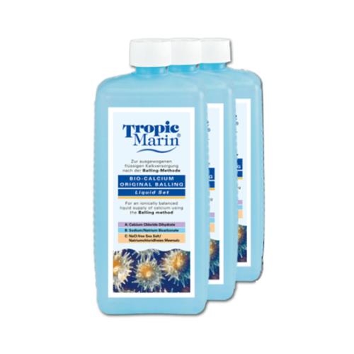 Tropic Marin Tropic Marin Bio-Calcium liquid set -  volgens Balling methode - 3 flessen a 1000ml