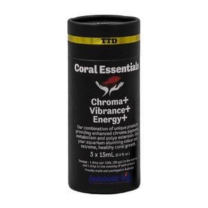 Coral Essentials Coral Essentials Chroma, Vibrance, Energy 3x15ml