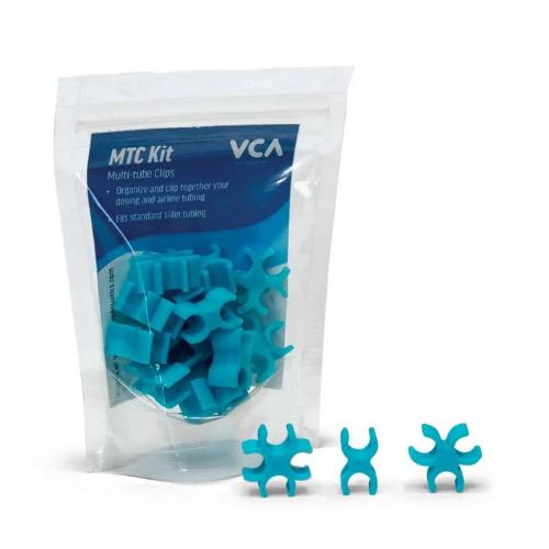 Vivid Vivid Multi Tube clips Aqua blue (15 piece Kit)
