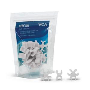 Vivid Vivid Multi Tube clips Seafoam White (15 piece Kit)