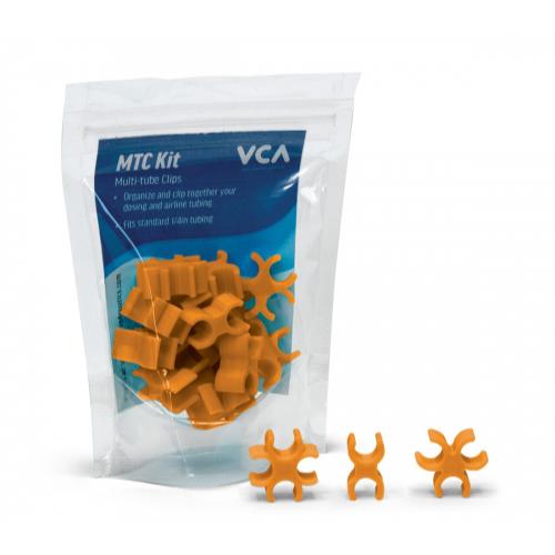Vivid Vivid Multi Tube clips Yuma Orange (15 piece kit)