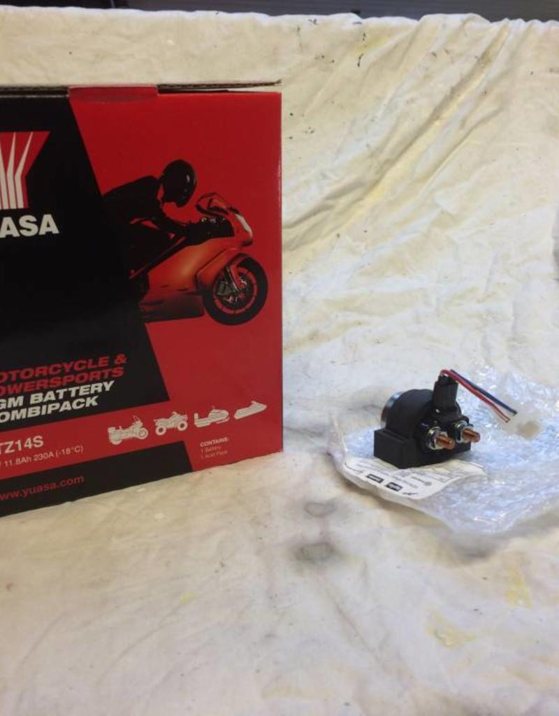 Yuasa Starter upgrade Kit (Suitable for all V990 Models)