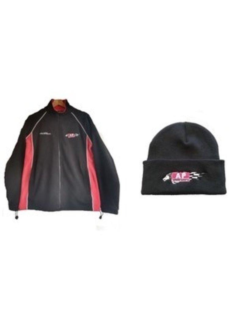 AP workshops fleece and hat combo