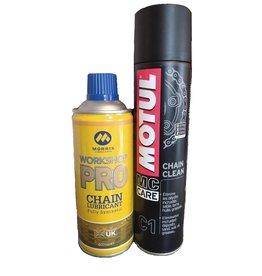 chain clean & lube combo