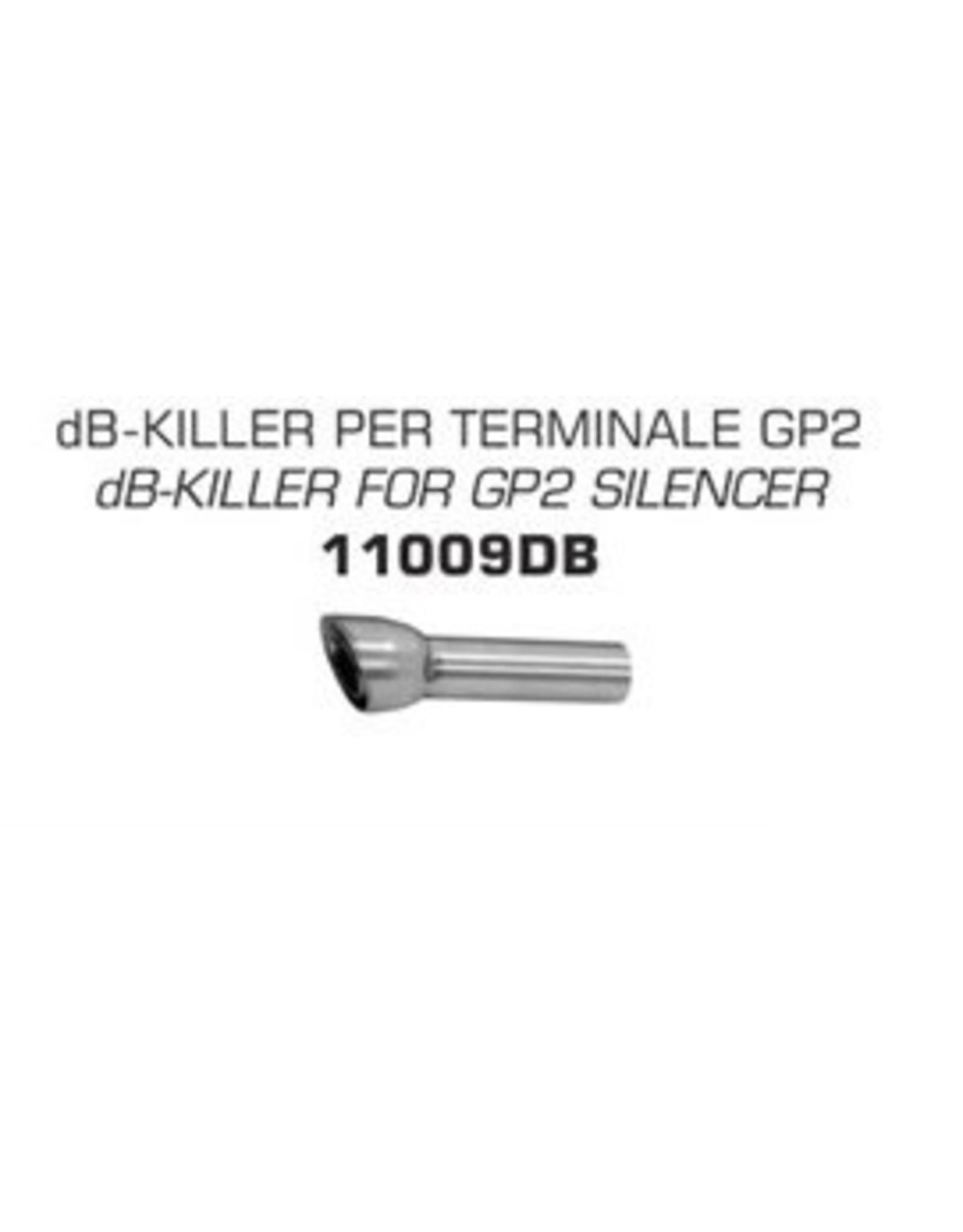 Arrow db killer gp2 silencer 09-13