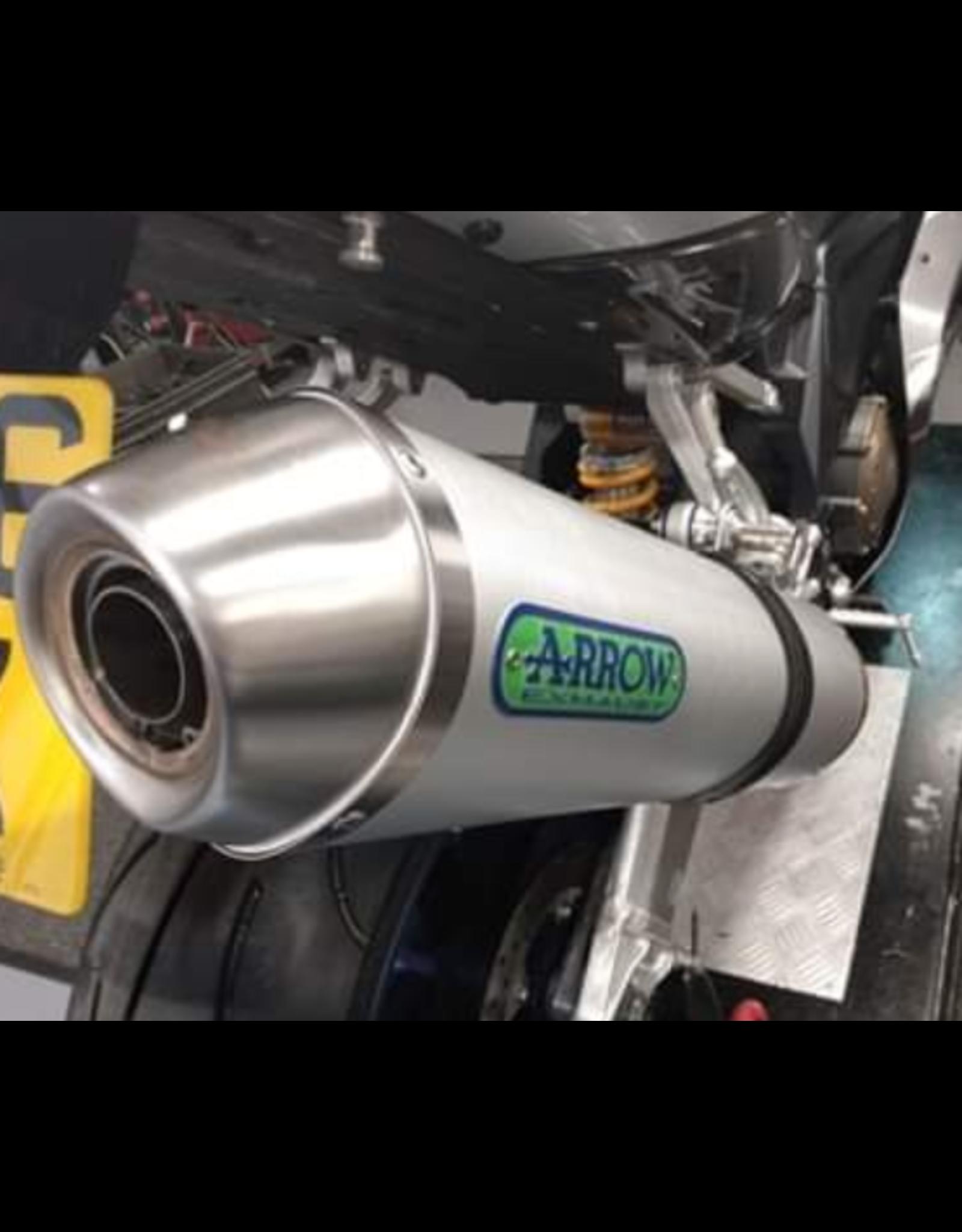 Arrow Arrow exhaust gen 2 , aluminium homologated silencers