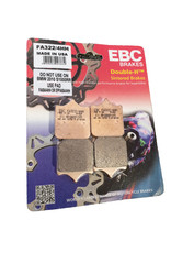 EBC Brakes FA322/4HH 4 pad type brake pads 1 Set (For Fitment See Description!)