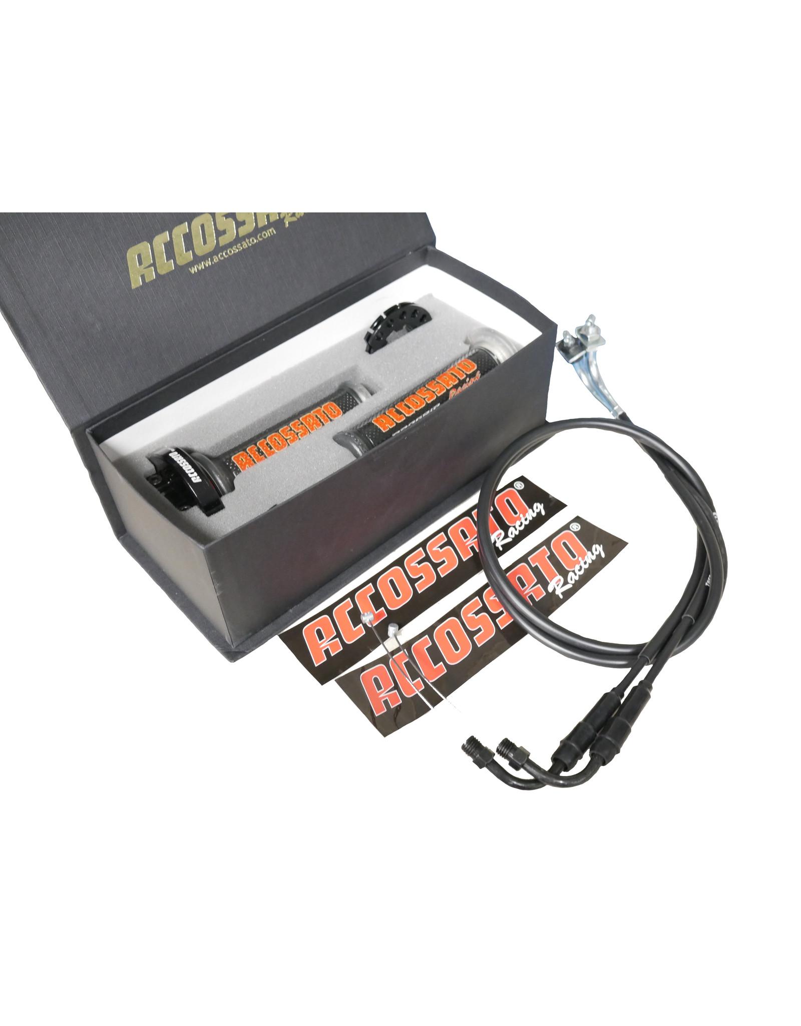 Accossato Quick Action Throttle Kit RSV4 09-16
