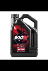 Motul 5W30 300V ,  4 Litres