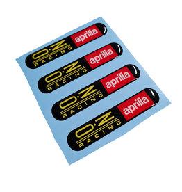 OZ Wheel Stickers x 4