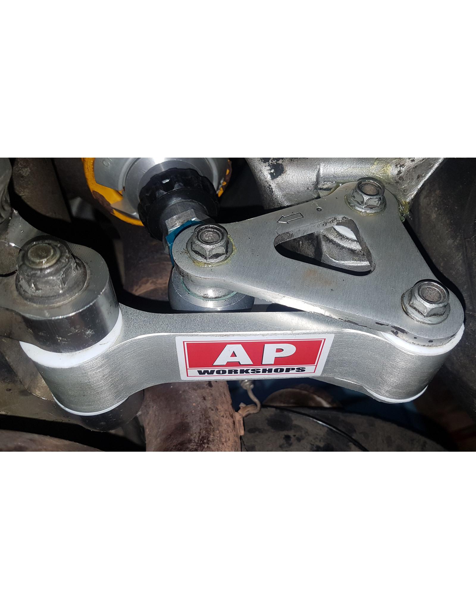 AP Workshops Uprated Suspension Linkage Plates (Gen1)01-03