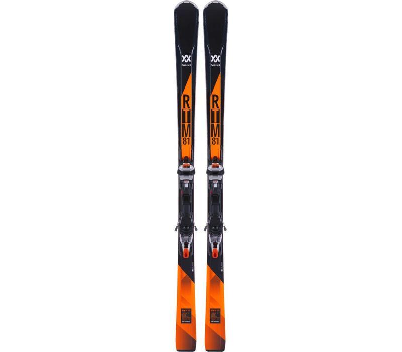 Volkl Rtm 81 Ski + Ipt Wr Xl 12 Tcx Binding