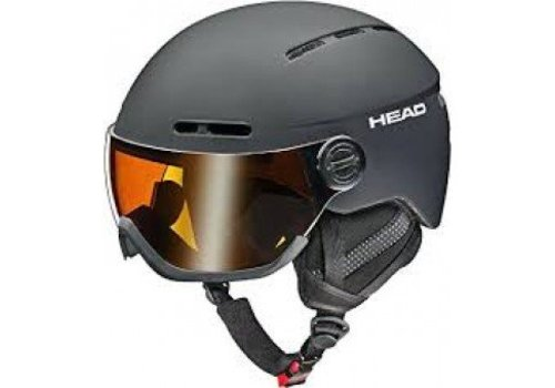 HEAD SKI Head Knight Helmet Black