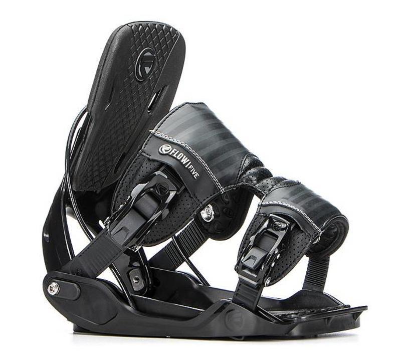 Flow Five  Black Snowboard Binding